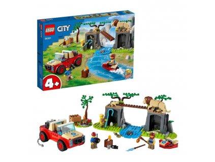 LEGO City Záchranářský teréňák do divočiny 60301