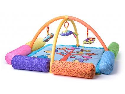 NINY - Baby hrací deka s hrazdou