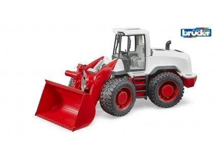 Konstrukční vozy - traktor s předním nakladačem