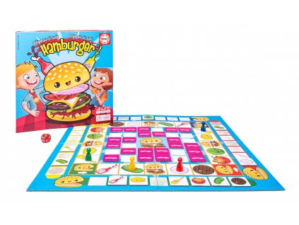 Dětská hra Připrav si svůj Hamburger