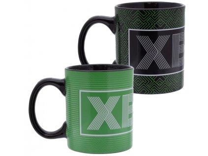 Proměňovací keramický hrnek Xbox: Logo ()