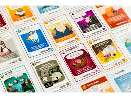 Rodinná hra Výbušná koťátka - 3. rozšíření Štěkající koťátka