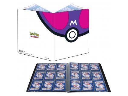 Pokémon UP: Master Ball - A4 album na 180 karet