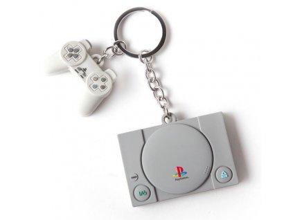 Přívěsek na klíče Playstation: Console & Controller ()