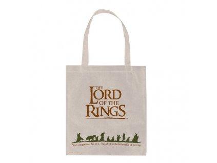 Shopping taška na rameno Lord Of The Rings Pán prstenů: Fellowship (41 x 37 cm)