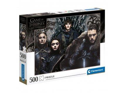 Puzzle Game Of Thrones|Hra o trůny: House Stark 500 dílků (49 x 36 cm)