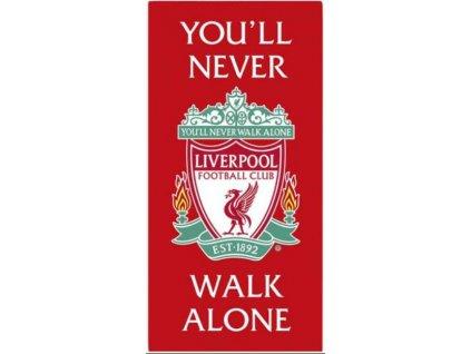 Ručník - osuška FC Liverpool: Logo YNWA (70 x 140 cm)