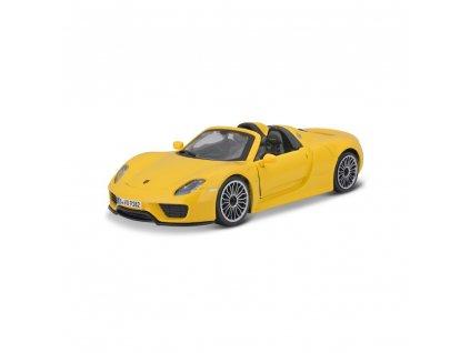 Bburago 1:24 Plus Porsche 918 Spyder Yellow