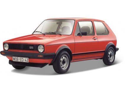 Bburago 1:24 Plus Volkswagen Golf MK1 GTI Red