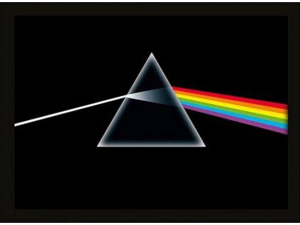 Plakát v rámu Pink Floyd: Dark Side of the Moon (30 x 40 cm)