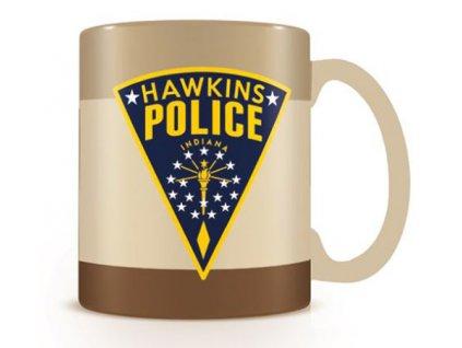 Keramický hrnek Stranger Things: Hawkins Police (objem 315 ml)
