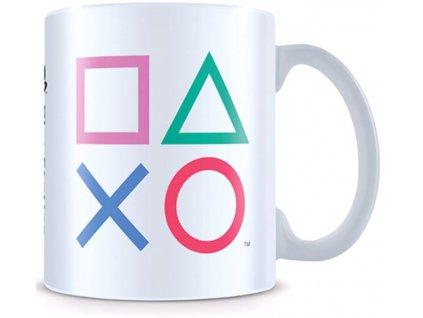 Keramický hrnek Playstation: Loga (objem 315 ml)