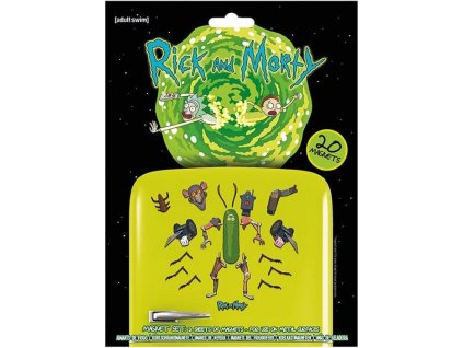 Magnety Rick And Morty: Weaponize The Pickle set 20 kusů (18 x 24 cm)