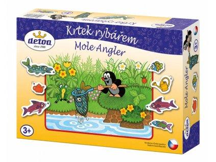 Dětská hra Krtek rybářem
