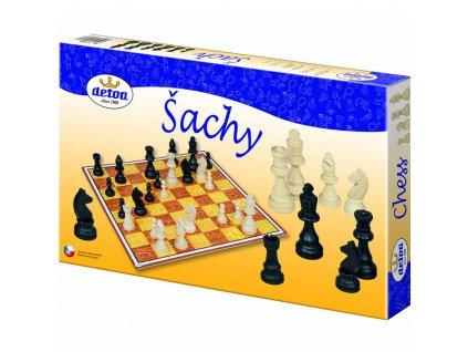 Šachy KLASIK dřevěné