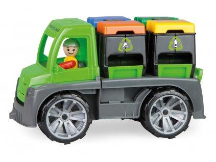 Auto TRUXX s kontejnery