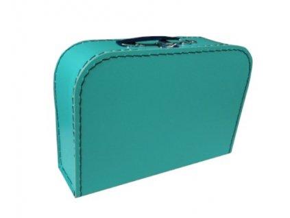 Kufr dětský 30cm modrozelený