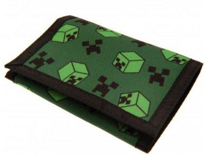Rozkládací peněženka Minecraft: Creeper (13 x 10 cm)