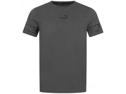 Pánské tričko Puma Borussia Dortmund Culture šedé