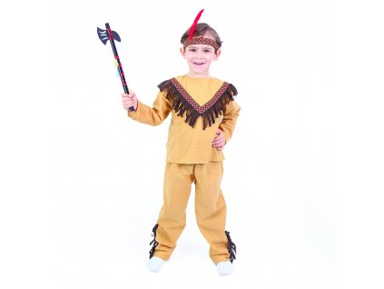 Dětský kostým indián (M)