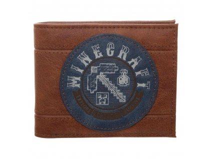 Peněženka Minecraft: Adventure (11,5 x 8,5 cm)
