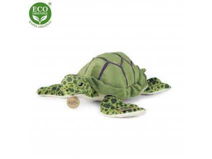 Plyšová želva mořská 25 cm ECO-FRIENDLY