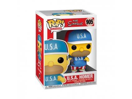 Figurka Funko POP Animation: Simpsons S6 - USA Homer