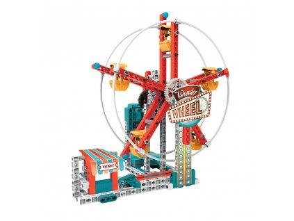 Mechanická laboratoř - Lunapark, 50 modelů, 250 dílků