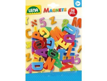Magnetická písmena velká, 30 mm