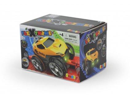 FleXtreme žluté závodní auto