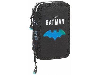 Dvoudílné školní pouzdro DC Comics|Batman: Bat-Tech (12,5 x 19,5 x 4 cm)