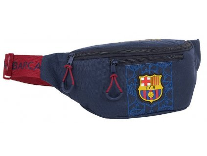 Kapsička kolem pasu - ledvinka FC Barcelona: (23 x 12 x 9 cm)