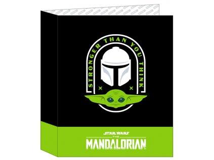A4 kroužkový pořadač Star Wars|Hvězdné války: TV seriál The Madnalorian (27 x 33 x 6 cm)