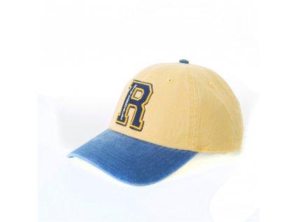 Kšiltovka Riverdale: R logo (universální) žlutá
