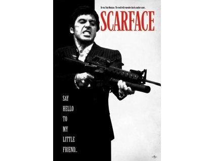 Plakát Scarface: Say Hello To My Little Friend (61 x 91,5 cm)