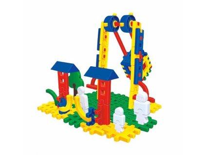 Stavebnice Blok Lunapark 2-107
