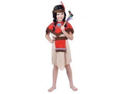 Dětský kostým Indiánka (110-122)
