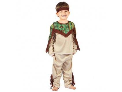 Dětský kostým Indián (92-104)