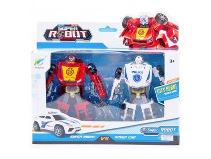 Super robot hasič policista