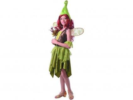 Šaty na karneval - Lesní víla
