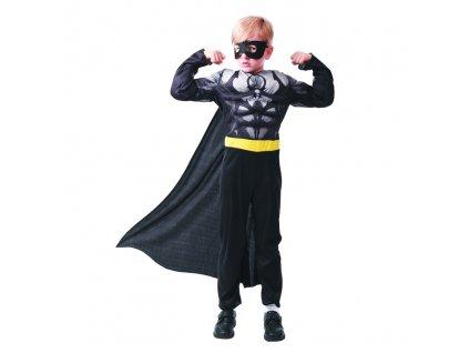 Kostym na karneval - Hrdina v černém