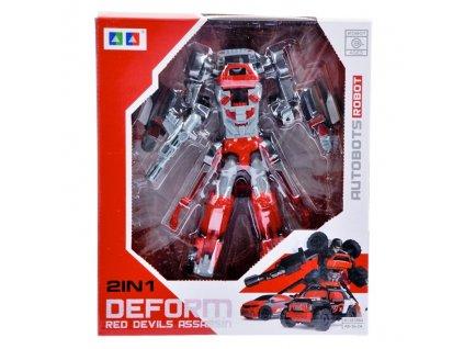 2v1 - robot, auta