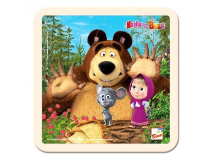 Máša a medvěd puzzle