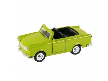 Auto kovové trabant kabriolet