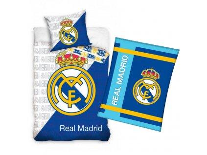 Set povlečení a fleecové deky Real Madrid 21