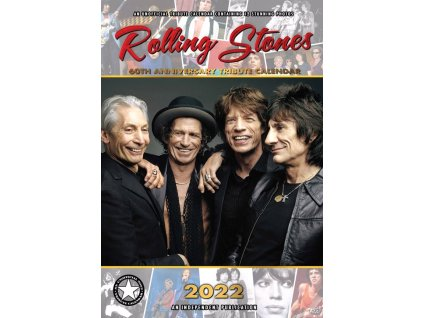 Kalendář 2022: Rolling Stones (A3 29,7 x 42 cm)