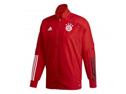 Pánská bunda Adidas Bayern Mnichov 20/21 červená JKT