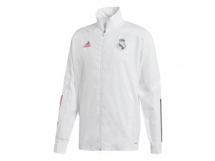 Pánská bunda Adidas Real Madrid 20/21 JKT white