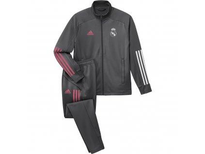 Dětská souprava Adidas Real Madrid 20/21 šedá