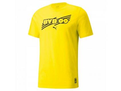 Pánské tričko Puma Borussia Dortmund 09 žluté